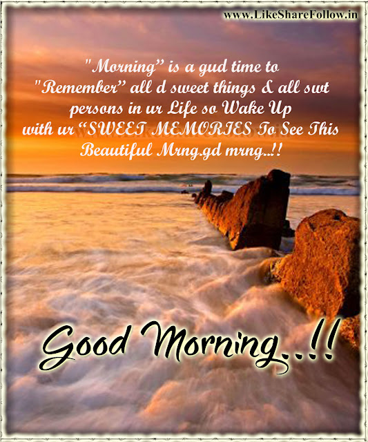 Good morning Quotations messages for whatsapp