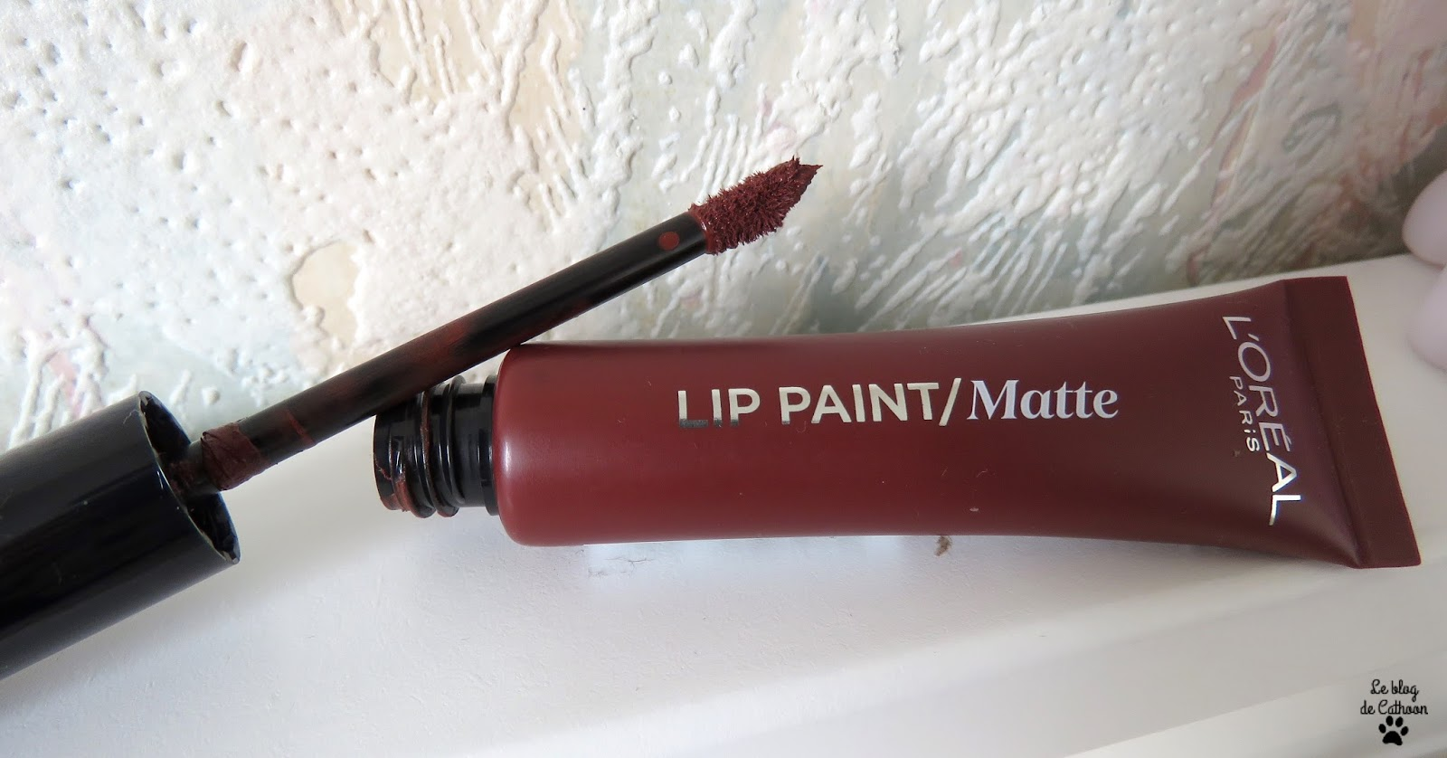 Lip Paint Matte - Rouge à Lèvres Infaillible - L'Oréal - 213 Stripped Brown