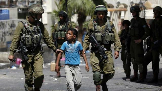 Israel detiene y abusa de más de 6000 niños palestinos desde 2015