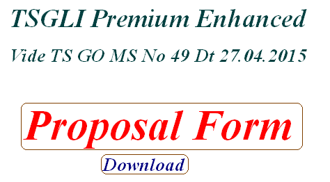 Proposal Form TSGLI Premium enhancement download TSGLI Application