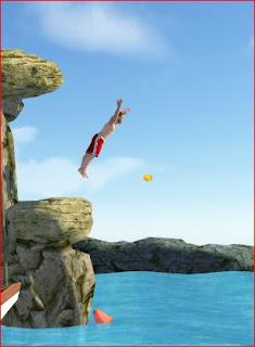تحميل لعبة السباحة Flip Diving  مهكرة للاندرويد apk