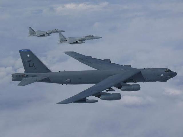 Αμερικανικό «ιπτάμενο φρούριο» πέταξε πάνω από το Αιγαίο