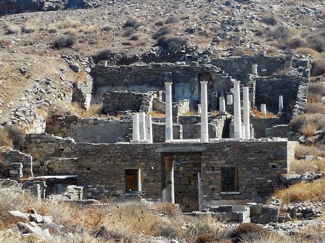 Dom Hermesa Delos Grecja