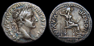 Real Faces of The Bible. Tiberius Julius Caesar.