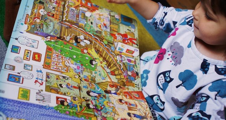 Zosia czyta Rok w przedszkolu