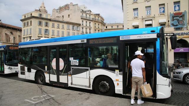 Ônibus de Marselha