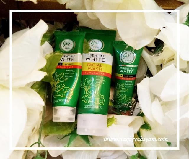 gizi essential white with temulawak