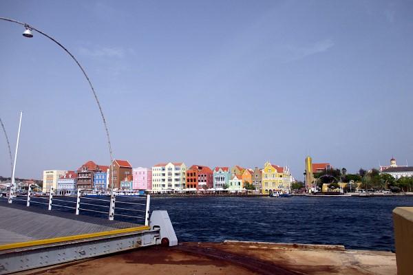 Curacao Willemstad Handelskade Emmabrug