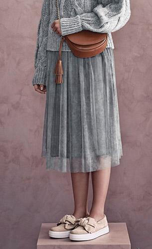 zapatillas y bolso bandolera Gloria Ortiz