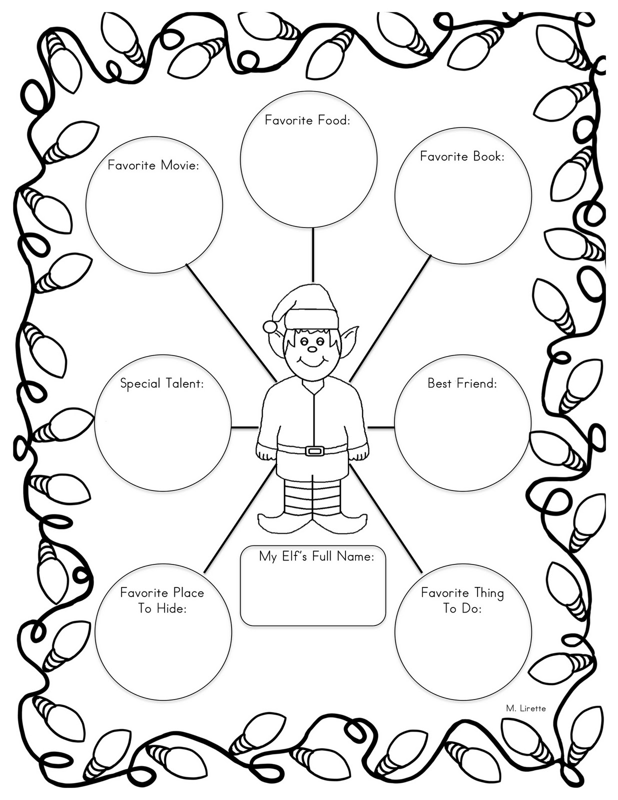Mrs. Lirette's Learning Detectives: Elf in the Classroom
