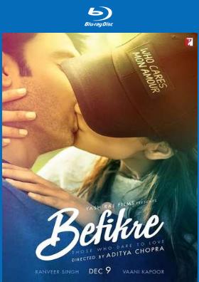 Befikre 2016 Hindi Movie 550mb