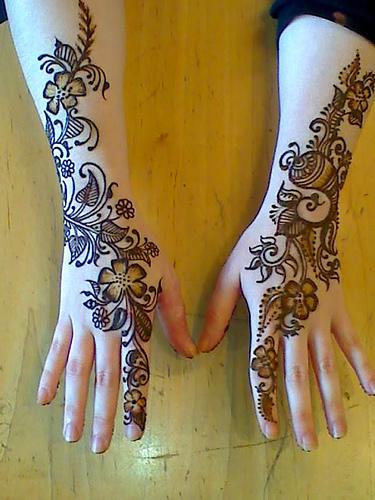 Beautiful Mehndi Designs For Pakistani Girls Blondelacquer