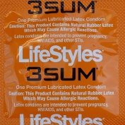 the 3sum lifestyle is one of the tightest snug fit condoms you can get