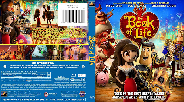 The Book Of Life Bluray Cover