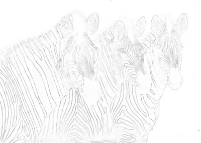 artycraftythings: Painting zebras in acrylic. Step by step.
