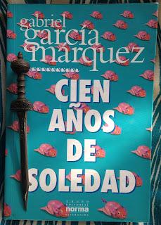 Portada del libro Cien años de soledad, de Gabriel García Márquez