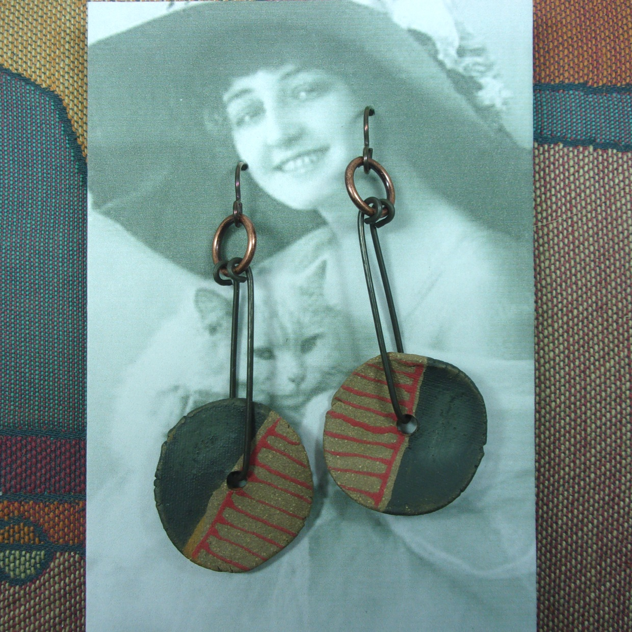 Vintage Vamps for Earrings
