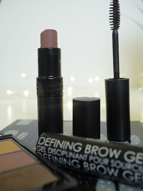 GOSH cruelty free review lipstick brow gel