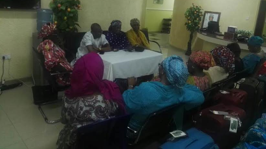 Lai Mohammed meets with 21 released Chibok girls
