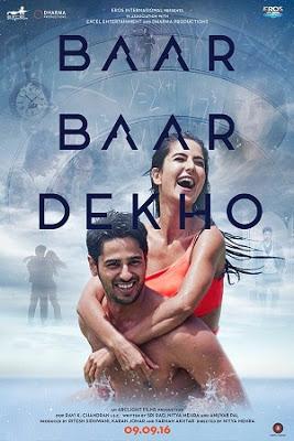 Baar Baar Dekho 2016 Hindi HDTV 150mb 480p HEVC x265