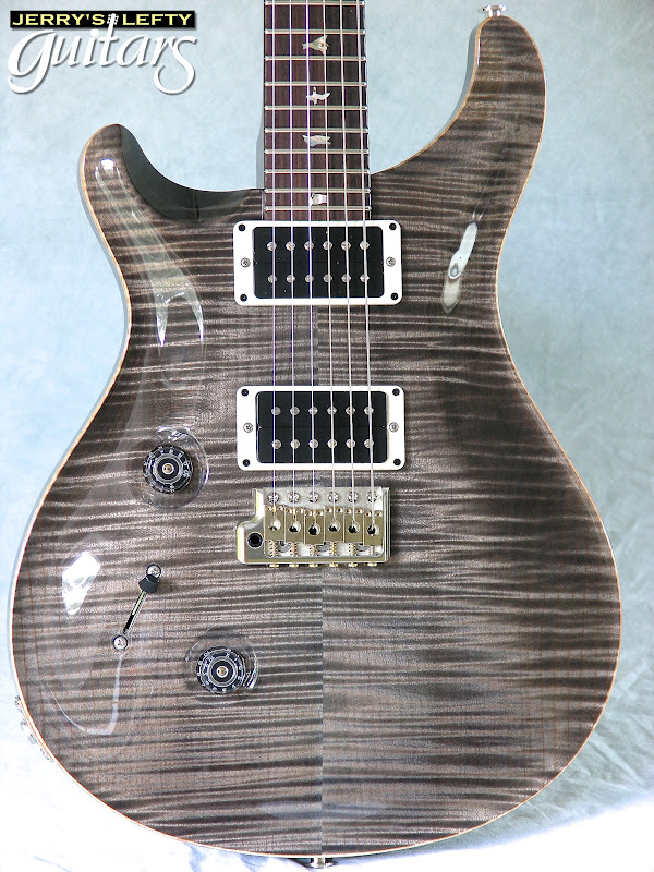 jerry 39 s lefty guitars newest guitar arrivals updated weekly prs custom 24 faded grey black. Black Bedroom Furniture Sets. Home Design Ideas