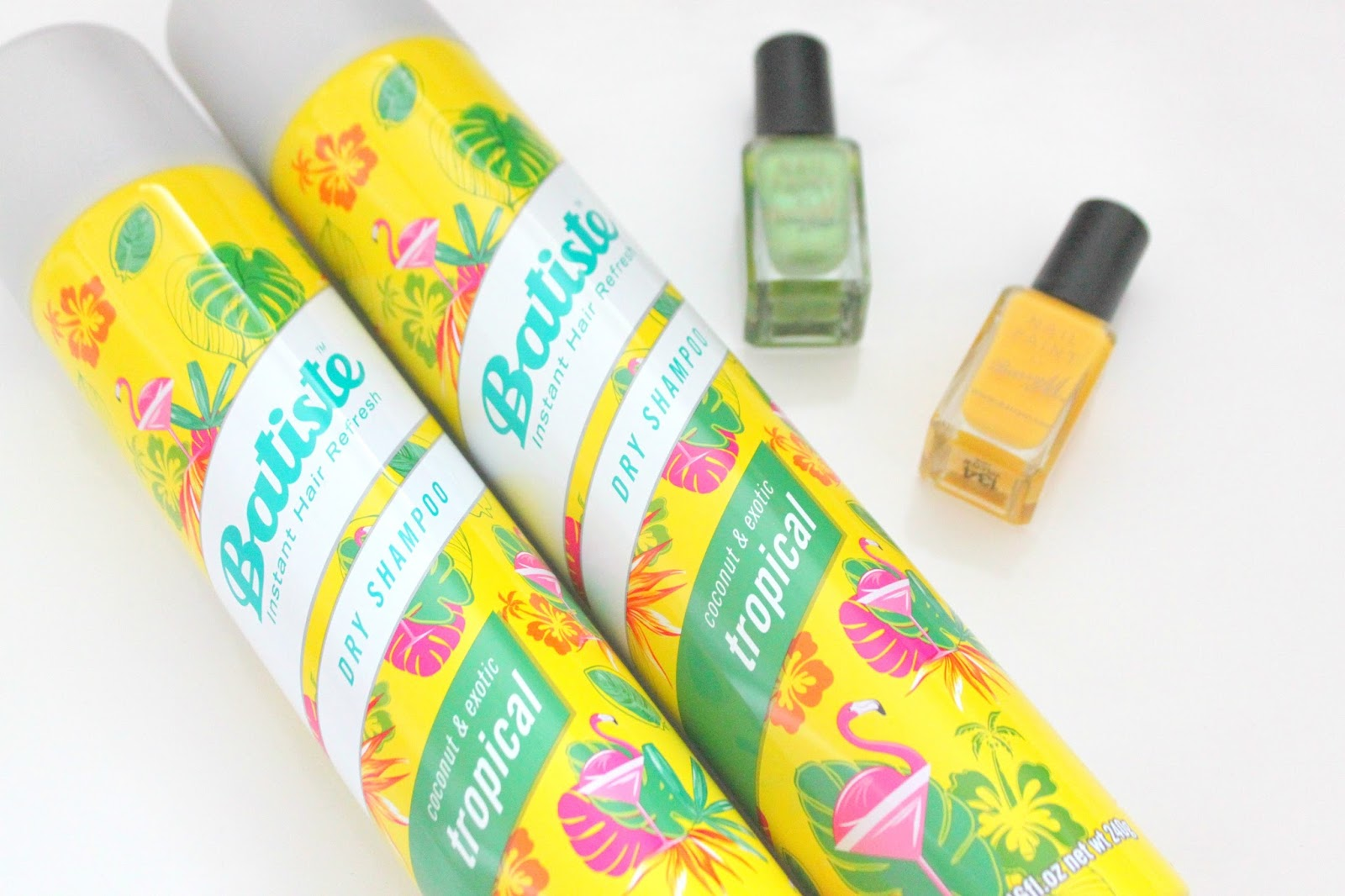 Batiste dry shampoo coconut and exotic tropical review healthy hair