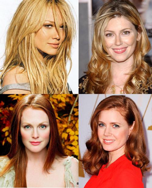 Женщины с теплой температурой внешности