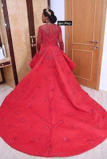 Oyinda Adenuga's white wedding