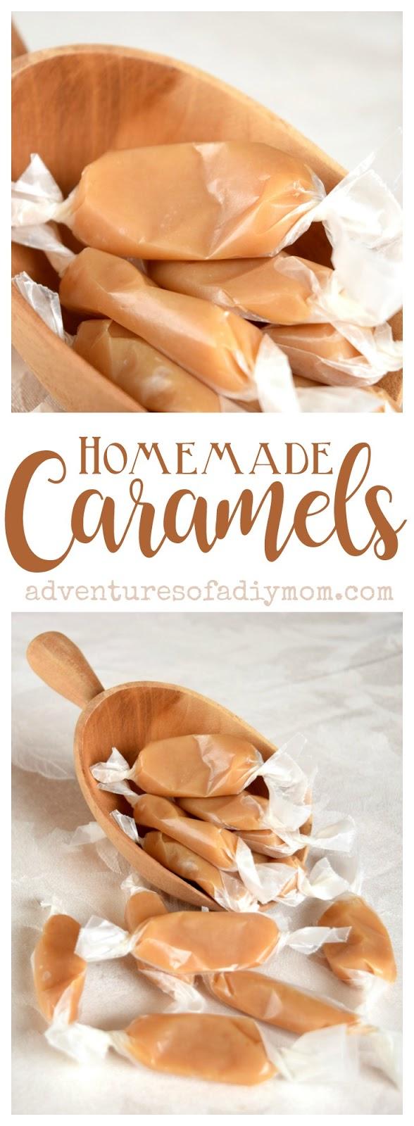 Homemade Caramel Recipe Adventures Of A Diy Mom