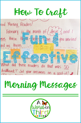 How To Craft Fun & Effective Morning Messages