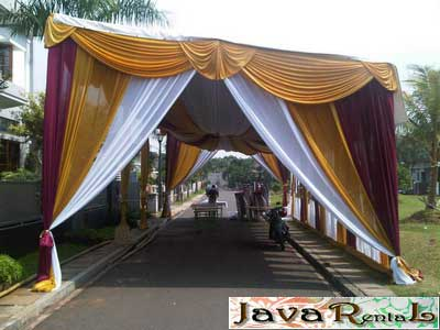 Rental Tenda Dekorasi - Pesta