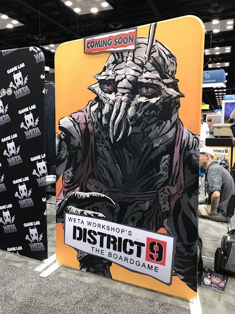 Weta Workshop: GenCon - District 9 Boardgame Coming Soon