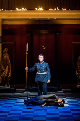 Grange Park Opera - Wagner: Die Walkure - Thomas Hall, Jane Dutton (credit: Robert Workman)