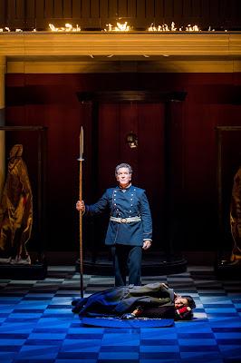 Grange Park Opera - Wagner: Die Walkure - Thomas Hall, Jane Dutton (credit: Robert Workman)