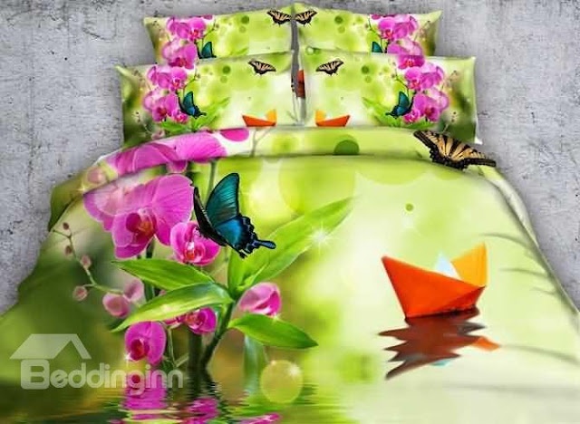 Beddinginn floral bedding sets