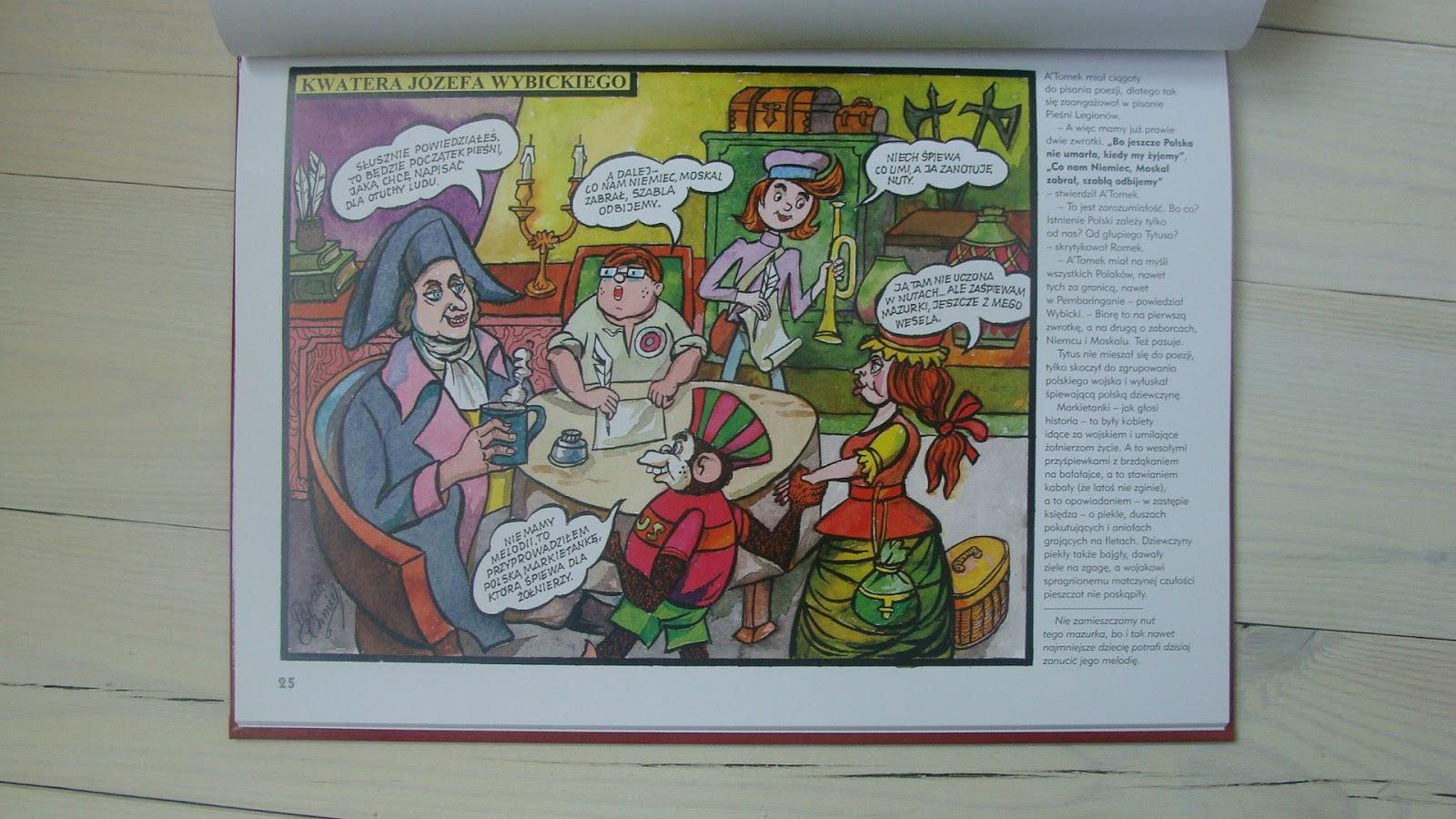 Tytus, Romek i A'tomek, Gorzka Czekolada, Słoń w Autobusie