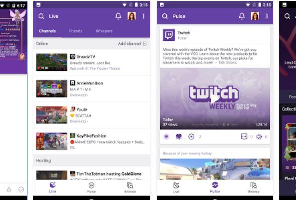 تطبيق-Twitch-اندرويد