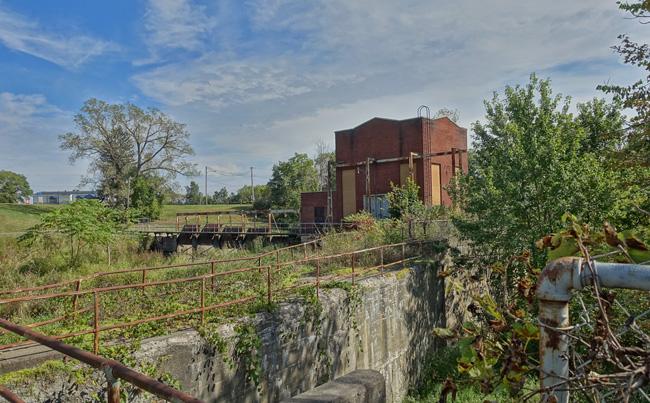 Pucker Street Hydroelectric Dam in Niles, Michigan