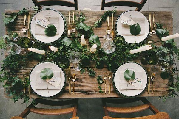 decoracao de casamento verde
