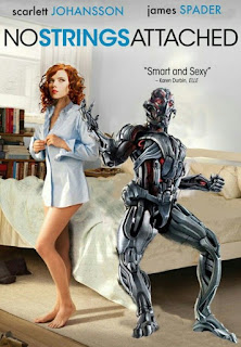 No Strings Attached With Ultron And Black Widow
