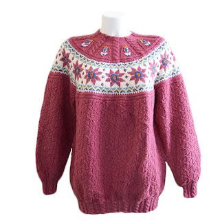 pullover stile norvegese