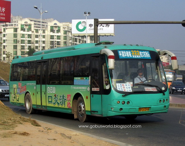 Go Bus's World: [深圳巴士]多姿多采的深圳公交