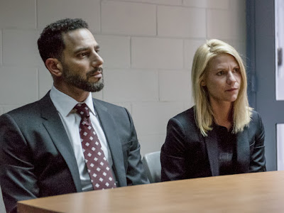 Claire Danes and Patrick Sabongui in Homeland Season 6 (2)