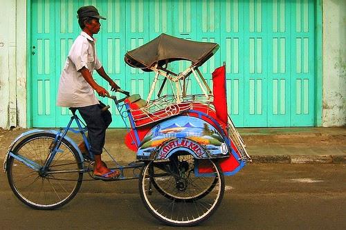 Kliping Gambar Alat Transportasi Tradisional dan Modern
