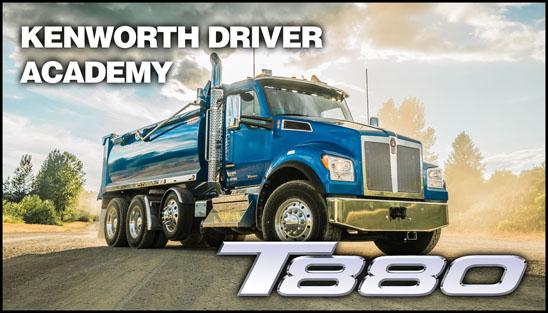Kenworth T880 Driver Academy