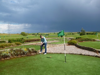 Dunton Hills Miniature Golf Course in West Horndon, Essex