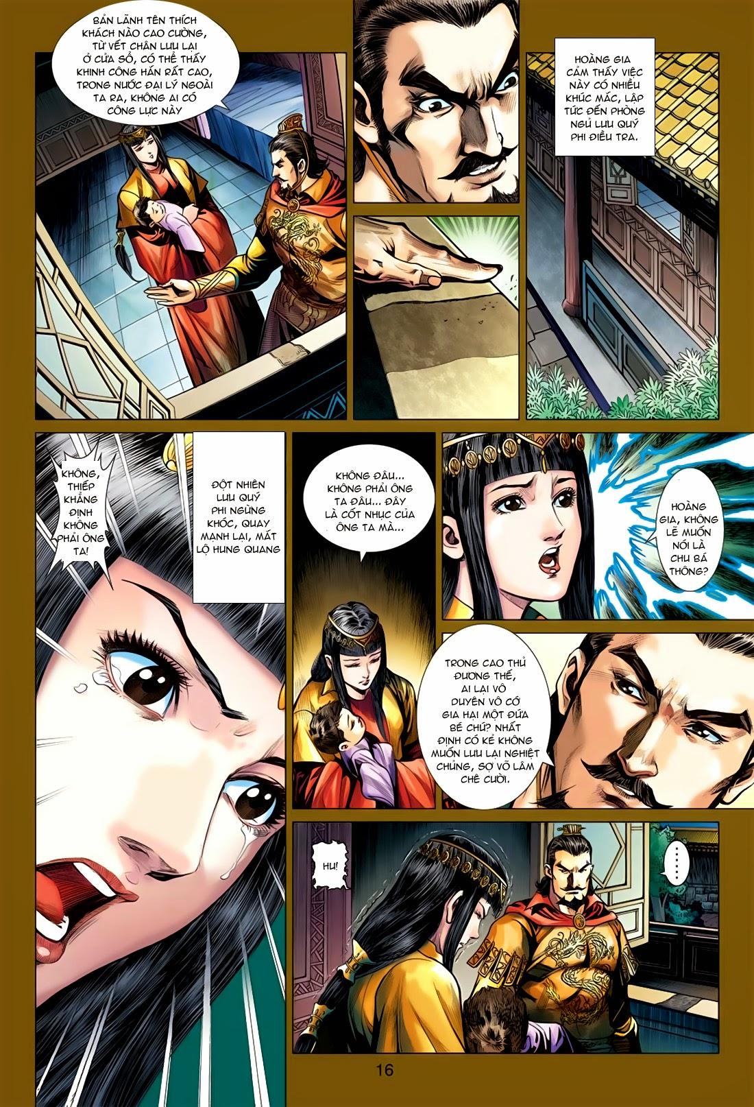 Anh Hùng Xạ Điêu anh hùng xạ đêu chap 78: sát anh trang 16