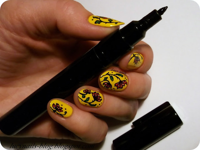 Nail Art Pen Lady Queen