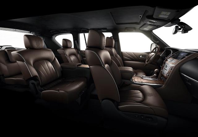 2015 Infiniti QX80 interior