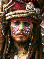 Johnny Depp as Cultural Appropriation Jack Sparrow…I mean
